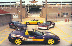 The Indy Corvettes